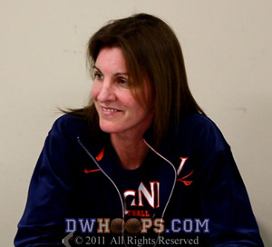 Virginia coach Joanne Boyle