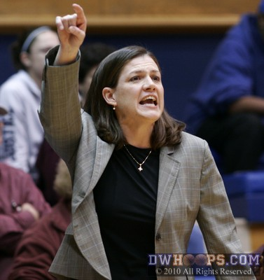 Virginia Tech Head Coach Beth Dunkenberger