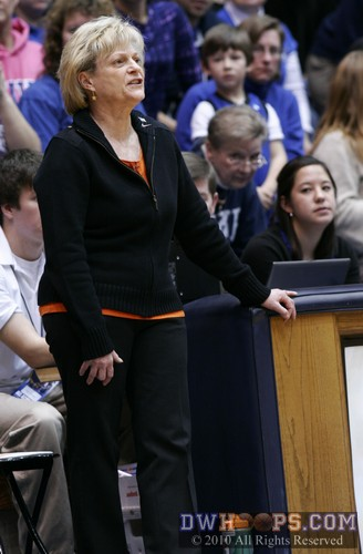 Virginia Head Coach Debbie Ryan