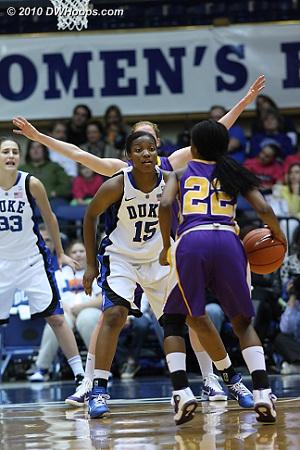 Richa Jackson on defense