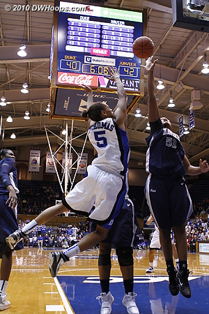 Phillips rebounds a J.Thomas miss.  - Duke Tags: #5 Jasmine Thomas