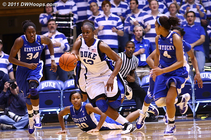 Karima breaks the Kentucky press  - Duke Tags: #13 Karima Christmas