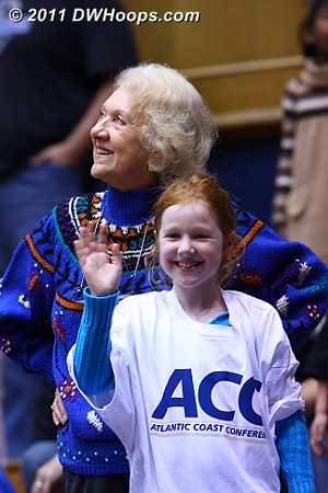 An ACC t-shirt finds a new home with a young Duke fan.  - Duke Tags: Fans