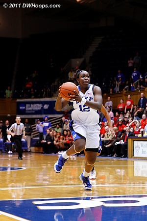 Jas found a wide open Chelsea Gray streaking to the hoop.  - Duke Tags: #12 Chelsea Gray
