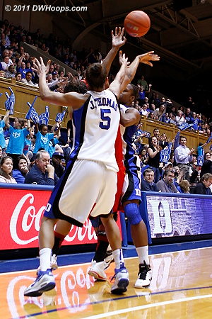 Making some baskets gave Duke more opportunities to press and trap.