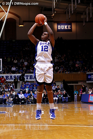 Chelsea Gray was only 1-6 from the field but grabbed 8 boards and a game-high 5 assists.  - Duke Tags: #12 Chelsea Gray