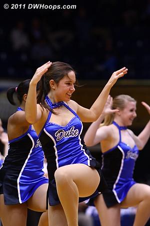 The Dancing Devils  - Duke Tags: Duke Cheerleaders