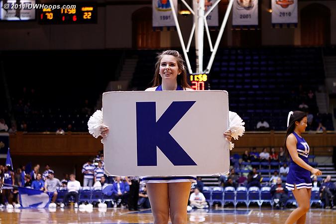 K!  - Duke Tags: Duke Cheerleaders