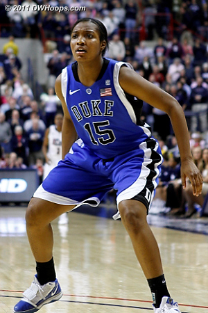 Richa started the second half  - Duke Tags: #15 Richa Jackson