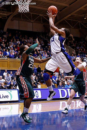 Karima stuck back the J.Thomas miss  - Duke Tags: #13 Karima Christmas 