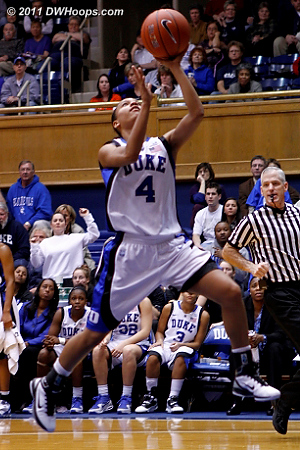 Chloe Wells soars to the goal  - Duke Tags: #4 Chloe Wells 