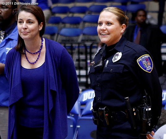 Under the watchful eyes of campus police, Duke had 13 steals  - Duke Tags: Joanne P. McCallie 