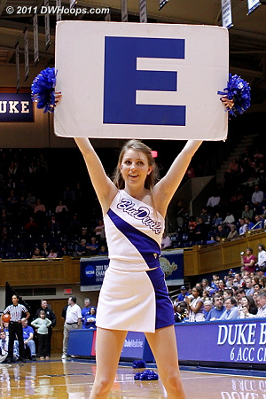 E!  - Duke Tags: Duke Cheerleaders