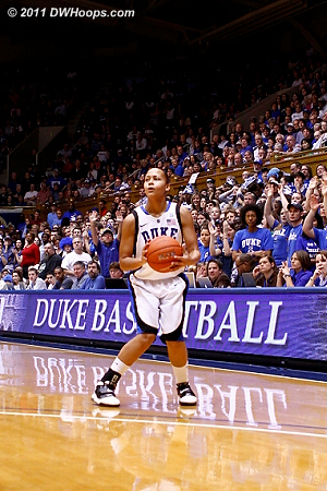 Shay Selby was left all alone to knock down a trey, Duke leads 26-19 and the Heels call a time out.  - Duke Tags: #3 Shay Selby