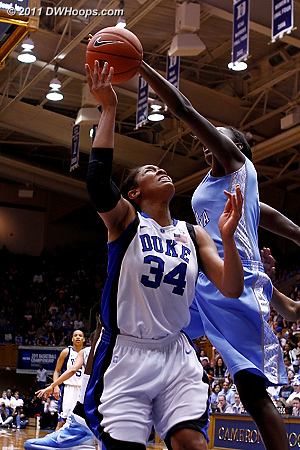 Rolle rejects K.Thomas  - Duke Tags: #34 Krystal Thomas