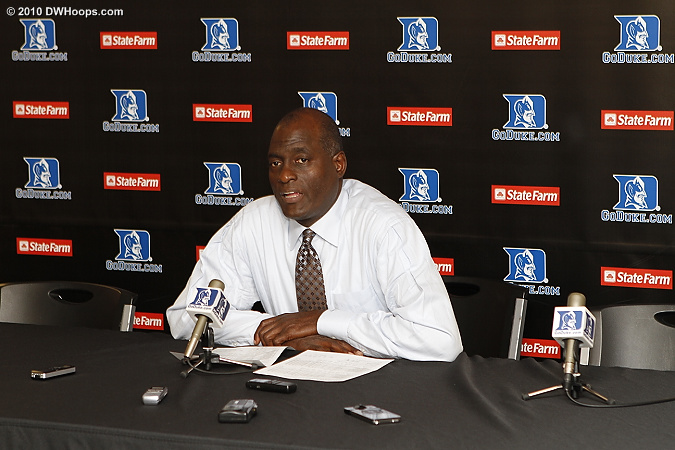 Michael Cooper told the assembled media,
