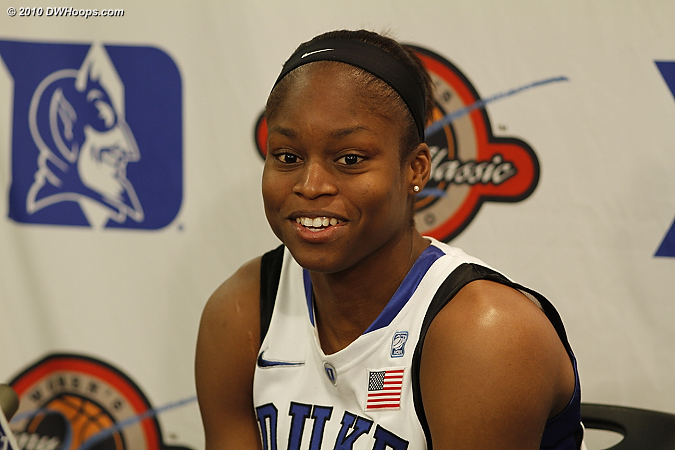 A beaming Karima Christmas was glad to finally get a win against her home state Aggies.