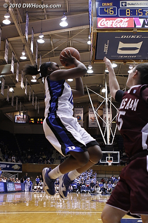 Chelsea Gray elevates but misses during a stretch of continual lead changes  - Duke Tags: #12 Chelsea Gray