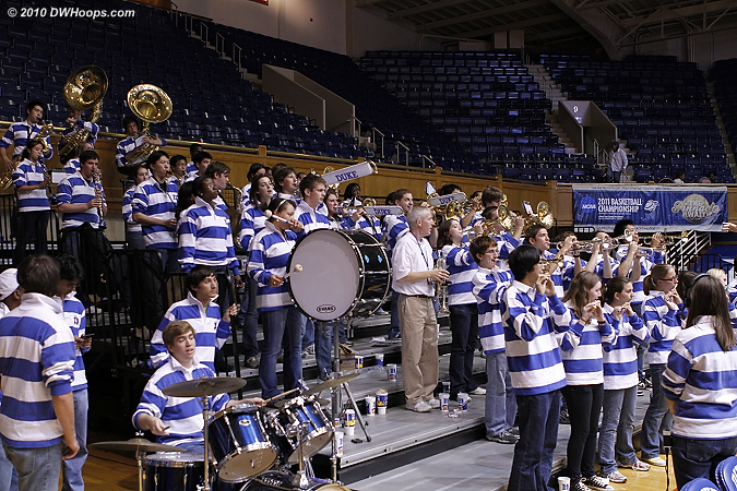 The Duke Pep Band turned out in full force, thank you!  - Duke Tags: Duke Pep Band
