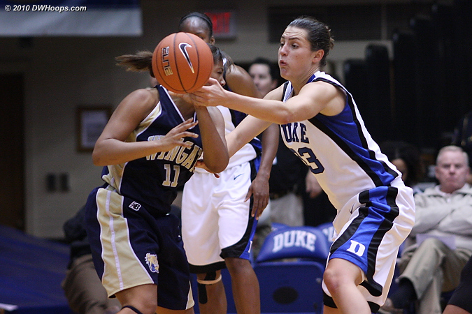 Peters aims for redemption on the other end  - Duke Tags: #33 Haley Peters