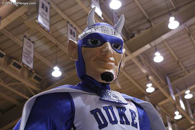 The Duke Blue Devil up close  - Duke Tags: Duke Blue Devil Mascot