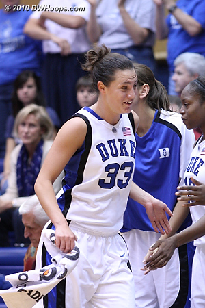 Peters can't believe she fouled out