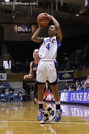 Wells with a wide-open look  - Duke Tags: #4 Chloe Wells