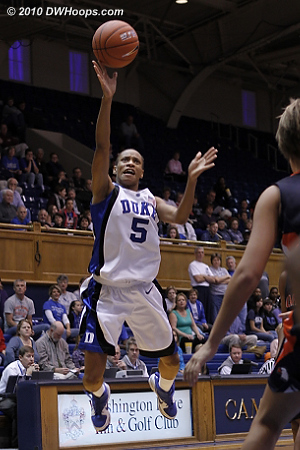 DWHoops Photo  - Duke Tags: #5 Jasmine Thomas