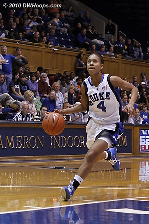 Wells goes coast-to-coast  - Duke Tags: #4 Chloe Wells