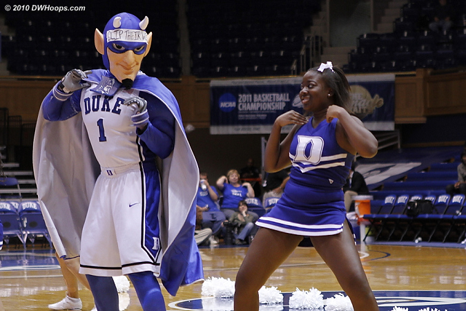 Lobster! Rock!  - Duke Tags: Duke Cheerleaders, Duke Blue Devil Mascot