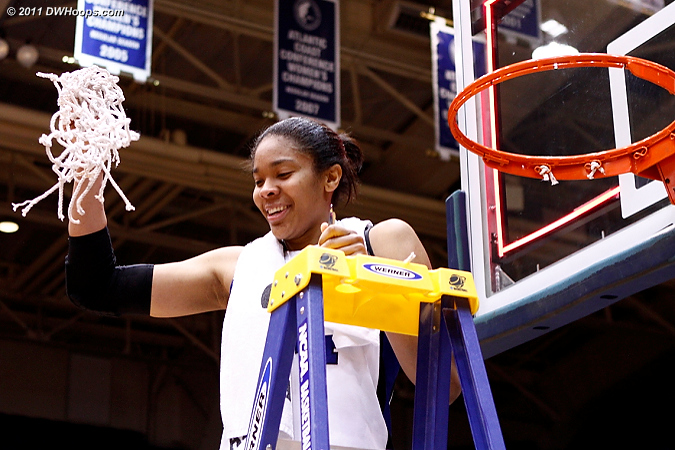 Duke is ACC Regular Season Champs!  - Duke Tags: #34 Krystal Thomas