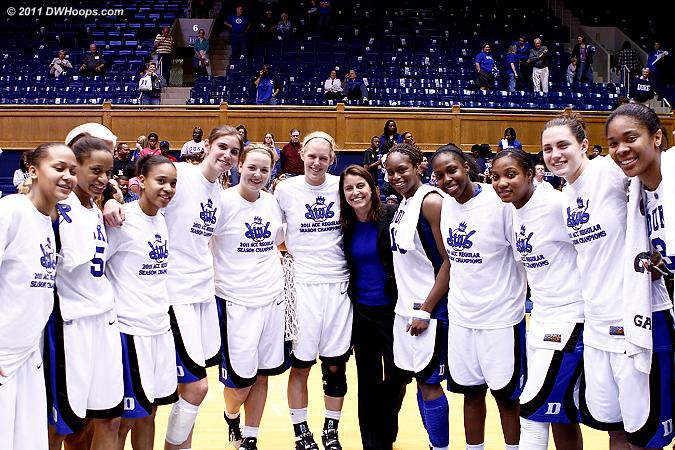 The 2010-11 Duke Blue Devils