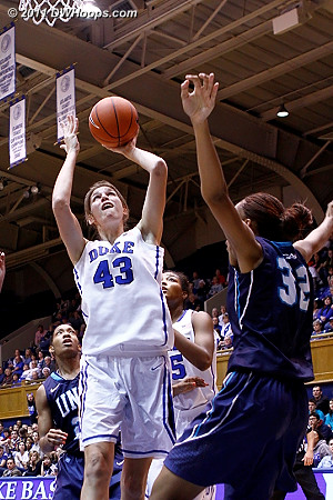 Allison Vernerey had a breakout game - 22 points on 10-11 shooting, and a perfect 2-2 from the stripe.