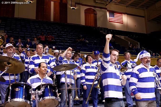 Duke Alumni Band in the house!  - Duke Tags: Duke Pep Band
