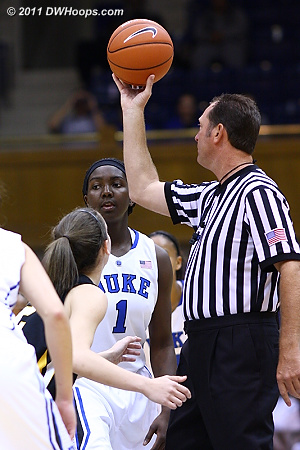 Opening Tip  - Duke Tags: #1 Elizabeth Williams
