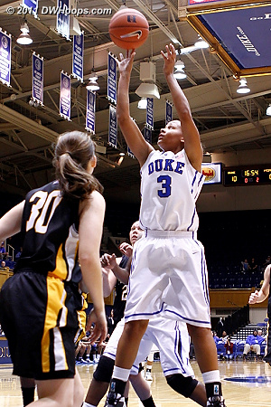 DWHoops Photo  - Duke Tags: #3 Shay Selby 