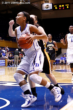 DWHoops Photo  - Duke Tags: #4 Chloe Wells 
