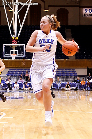 Liston in transition  - Duke Tags: #32 Tricia Liston 