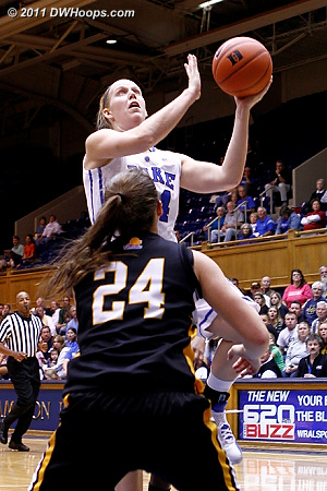 DWHoops Photo  - Duke Tags: #24 Kathleen Scheer 