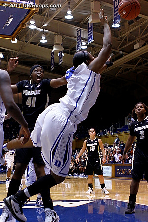 Richa Jackson fouled by Guyton (41)  - Duke Tags: #15 Richa Jackson