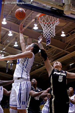Haley hits a reverse layup when Duke really needed a bucket  - Duke Tags: #33 Haley Peters