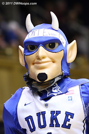 The Blue Devil was looking a little ragged