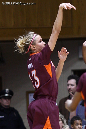 This would have tied it at 19  - VT Players: #13 Alyssa Fenyn