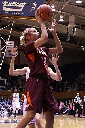 A Selby foul came before this shot  - VT Players: #13 Alyssa Fenyn