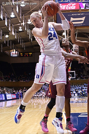 Kathleen Scheer brought energy to the Blue Devils when they desperately needed it.  - Duke Tags: #24 Kathleen Scheer