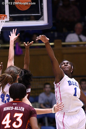 DWHoops Photo  - Duke Tags: #1 Elizabeth Williams