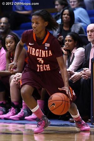 DWHoops Photo  - VT Players: #3 Aerial Wilson