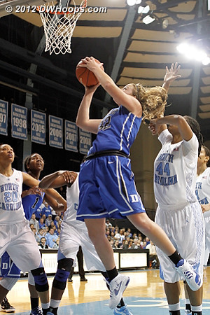 Duke goes up nine  - Duke Tags: #32 Tricia Liston