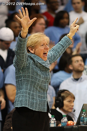 Coach Hatchell calls play fourteen