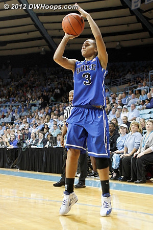 Selby puts Duke up by 11  - Duke Tags: #3 Shay Selby